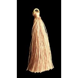 Φούντα μεταξωτή 7εκ ροζ αντίκ   0511042-1