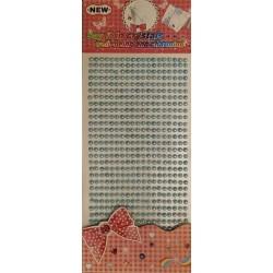 Αυτοκόλλητη σειρά πέρλα γαλάζιο  23558-11
