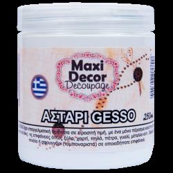 Αστάρι GESSO διάφανο MAXI DECOR 250ml 1042