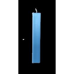 Κερί λαμπάδας πλακέ αρωματικό γαλάζιο 29,5 εκ 2713