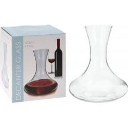 Μποτίλια κόκκινου κρασιού γυάλινη 1,2 ltr JK Home Decoration 308161