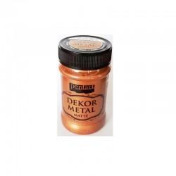 Χρώμα κιμωλίας μεταλλικό 100 ml PENTART μπρονζέ 222193