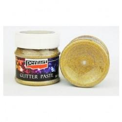 Glitter Paste Medium Gold Pentart 50ml 13048