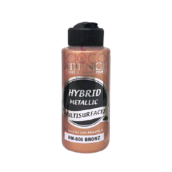 """Χρώμα υβριδικό μεταλλικό 120ml CADENCE \""""bronze\"""" HM-806"""