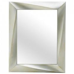 Καθρέπτης τοίχου ορθογώνιος με σαμπανί πλαίσιο PL 75x60cm INART  3-95-925-0011