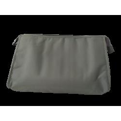Νεσεσσέρ μονόχρωμο χακί  pvc/polyester 32,5X20 JK Home Collection 436451AA