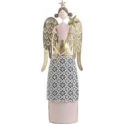 Άγγελος μεταλ. χρυσός/ροζ 15χ5χ42 INART 25-70-822-0014
