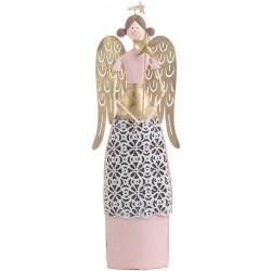 Άγγελος μεταλ. χρυσός/ροζ 11χ4χ32 INART 25-70-822-0013