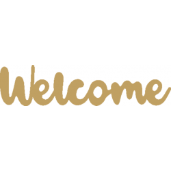Welcome 17εκ από  MDF 2-04-232