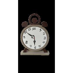 Φιγούρα ξύλινη ρολόι  mdf 48Χ58 εκ 4-08-240