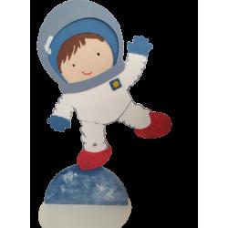 Φιγούρα ξύλινη Αστροναύτης  mdf 48Χ73 εκ 4-08-274