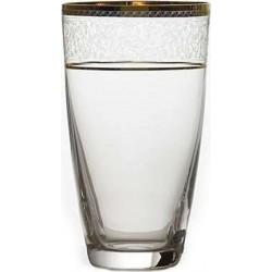Bohemia Ποτήρι Σωλήνα Elisabeth Κρυστάλλινο Platin 350ml 6τμχ