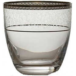 Bohemia Ποτήρι ουίσκι Elisabeth Κρυστάλλινο platin 300ml 6τμχ