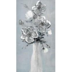 Πίνακας καμβάς βάζο με λουλούδια  60x4x120εκ INART 3-90-859-0160