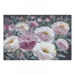 """Πίνακας καμβάς """"λουλούδια""""  80x4x120εκ INART 3-90-859-0161"""