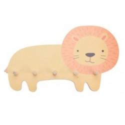 Κρεμάστρα λιοντάρι 5 θέσεων 44,5Χ4,50 Χ 25,5 JK Home Decoration 263750-2