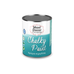 Χρώμα Κιμωλίας (Chalk paint ) Maxi Decor (ΜΠΛΕ ΠΑΓΩΝΙΟΥ) 750ml CHP-604