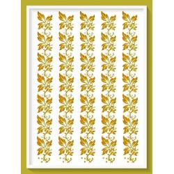 Transfer  glitter  χρυσό 24X16εκ. G23