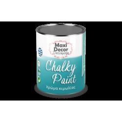Χρώμα Κιμωλίας (Chalk paint ) Maxi Decor (ΜΟΥΡΟ) 750ml CHP-602