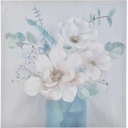 Πίνακας καμβάς  λουλούδια 60χ60 INART 3-90-242-0230