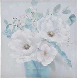 Πίνακας καμβάς  λουλούδια 60χ60 INART 3-90-242-0231