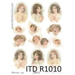 Ριζόχαρτο decoupage ITD 21x30 R1010