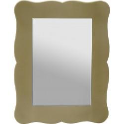 Καθρέπτης τοίχου με χρυσό ξύλινο πλαίσιο 90x70cm Inart  3-95-666-0004