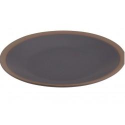 Πιάτο φαγητού κεραμικό  σετ/3 Φ26,5 εκ JK Home Decoration 405648