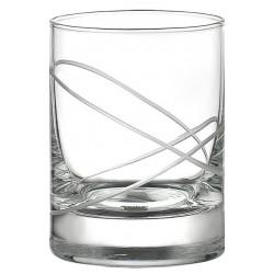 Ποτήρι κρασιού καθιστό σετ 6 DIVA CIRCLE