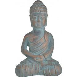 Βούδας τσιμεντένιος αντικέ βεραμάν/μπρονζέ 19χ10χ28 INART 3-70-456-0167