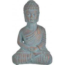 Βούδας τσιμεντένιος αντικέ βεραμάν/μπρονζέ 16χ10χ23 INART 3-70-456-0168