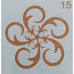 Στένσιλ  Whispers  13 x 13  Kωδ. SQ-15