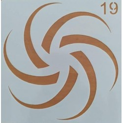 Στένσιλ  Whispers  13 x 13  Kωδ. SQ-19