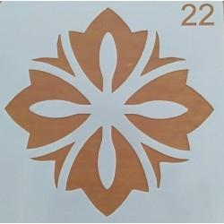 Στένσιλ  Whispers  13 x 13  Kωδ. SQ-22