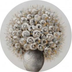 Πίνακας καμβάς βάζο λουλούδια Δ80χ3 INART 3-90-519-0189